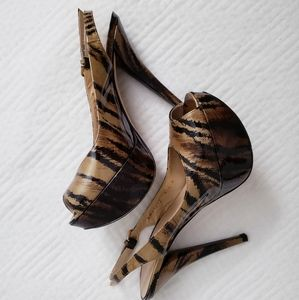 Stuart Weitzman- Gorgeous animal print heels